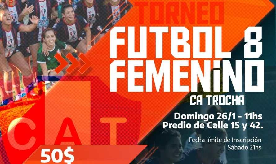 Se realizará un torneo de Fútbol Femenino en el Club Trocha