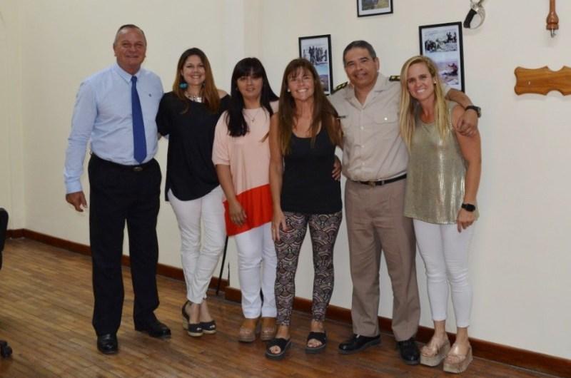 All Boys Solidario visitó a los nuevos directores de Gendarmería y Discapacidad