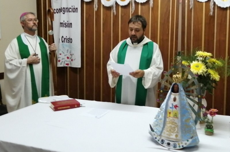 Pbro. Hernán López, nuevo párroco en el San José