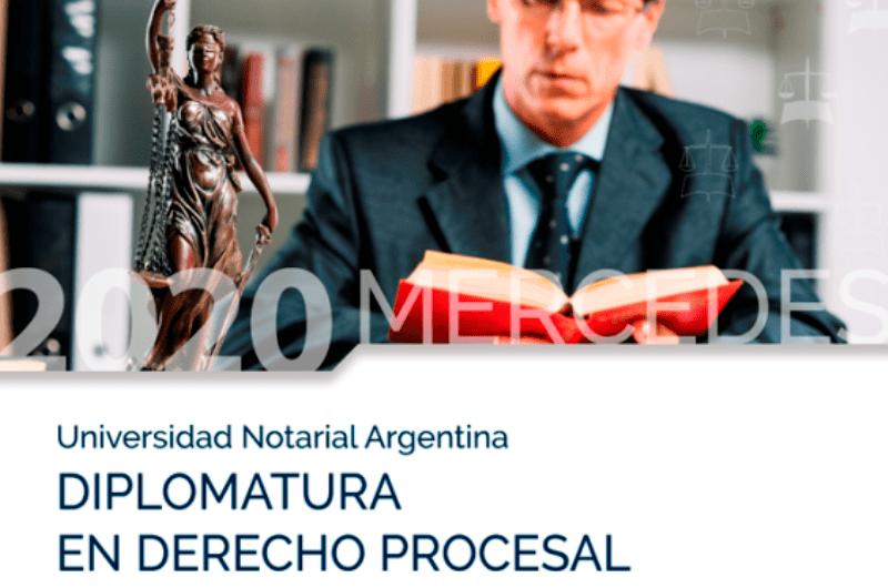 Sigue abierta la inscripción para la Diplomatura en Derecho Procesal