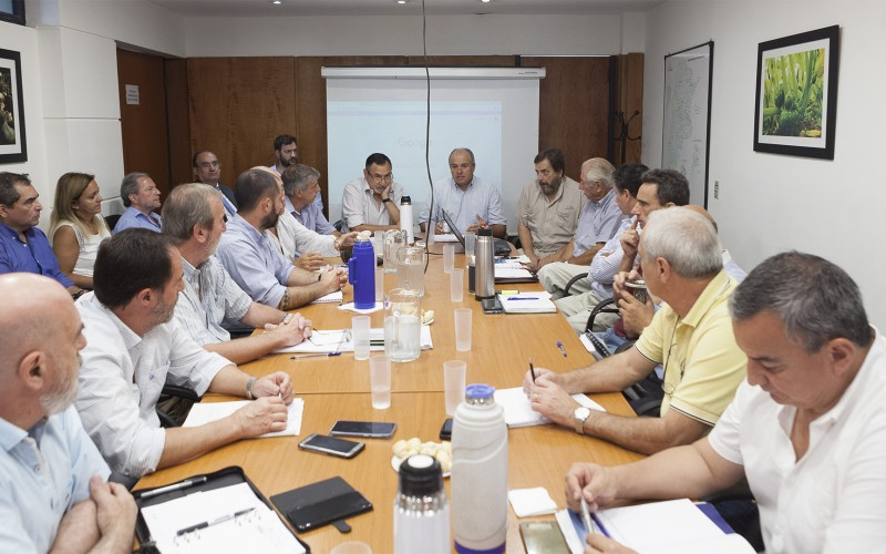 Reunión del SENASA en busca del desarrollo de las economías regionales