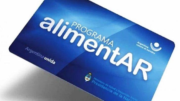 El jueves 2 y viernes 3 de abril entregarán tarjetas AlimentAR