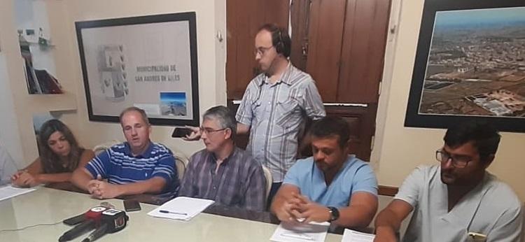 Coronavirus: Confirman caso sospechoso en San Andrés de Giles
