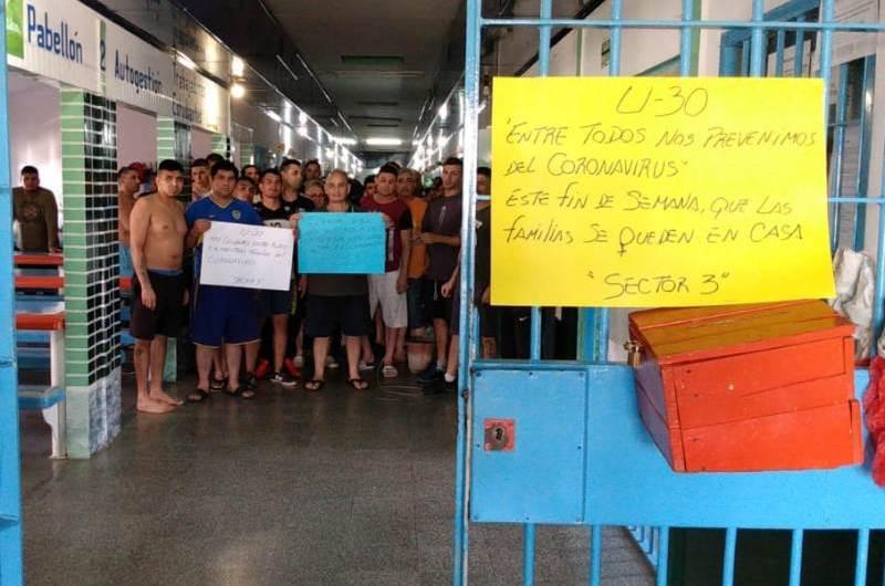 Coronavirus: la cárcel suspende visitas de forma voluntaria