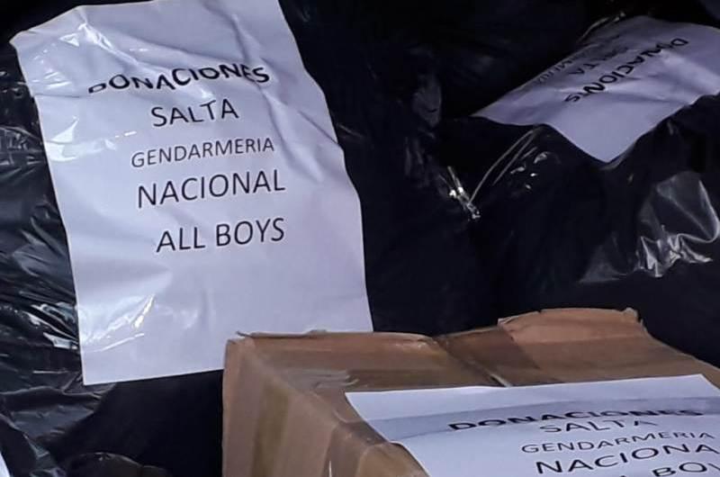 All Boys Solidario envía primer camión a Salta