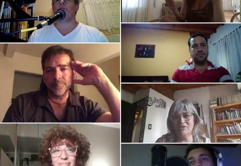 Músicos de la región se unen para cantar desde sus casas el tema «Imagine»