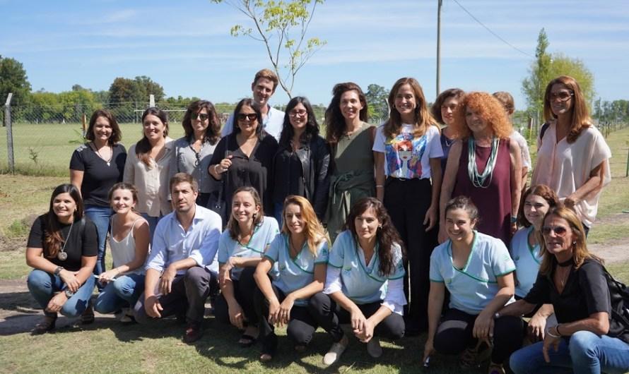 Unicef e importantes instituciones y visitas  recorrieron con Ustarroz el programa Primeros Mil Días