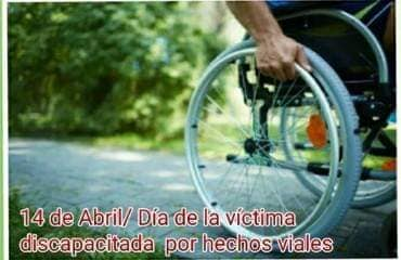 14 de abril: Día de la Discapacidad por Siniestros Viales