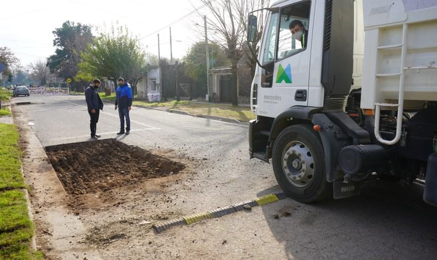 Municipio inició nuevo plan de bacheo