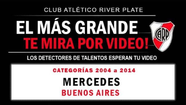 River Plate prueba jugadores por videos