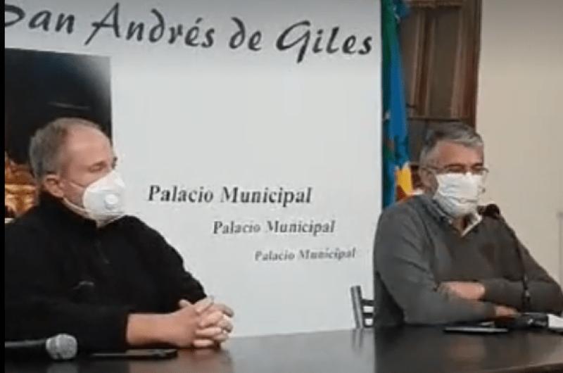 Coronavirus: San Andrés de Giles confirma nuevo positivo
