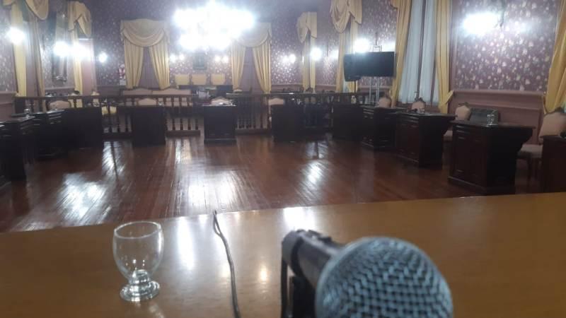 Lunes de sesión ordinaria en el Concejo Deliberante