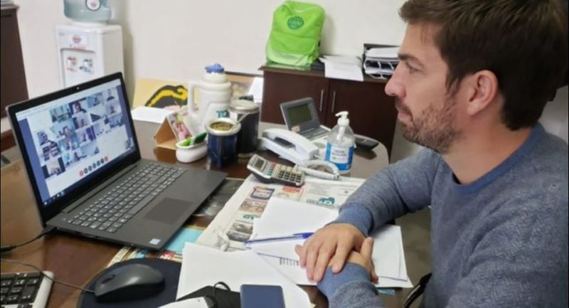 """Ustarroz participó del lanzamiento del programa provincial """"Preservar Trabajo"""""""
