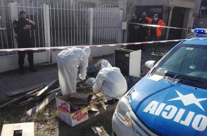 Luján: Encuentran los restos de un cuerpo humano en la vereda