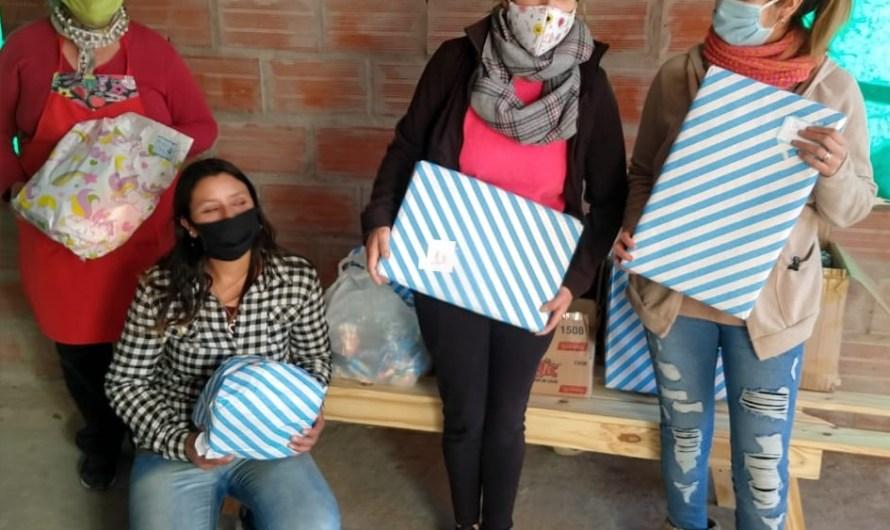 Día del Niño: comercios mercedinos entregaron jueguetes en el comedor La Fortaleza de La Pampita