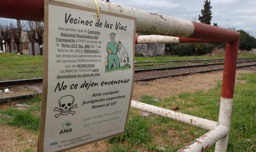 Acción de la AMA contra la fumigación en las vías del ferrocarril