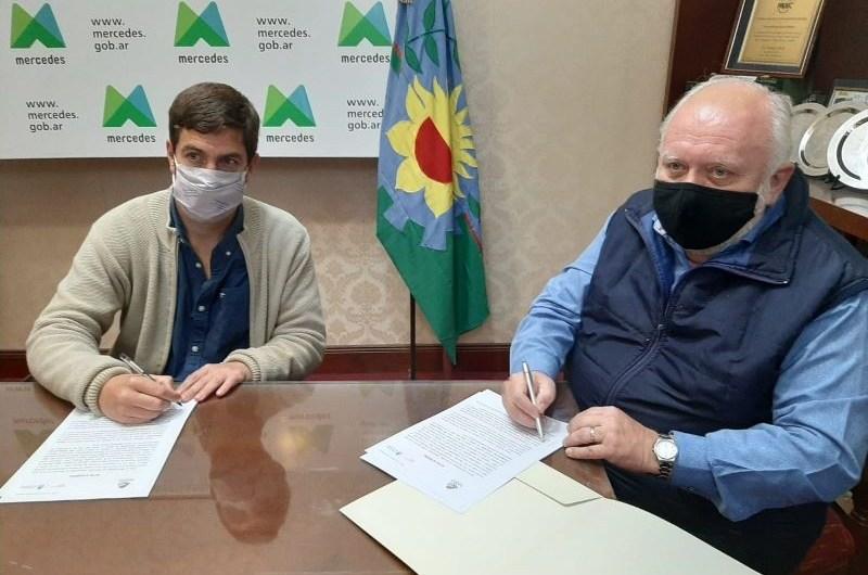 Firman convenio con Dirección de Sanidad Animal del área de salud nacional