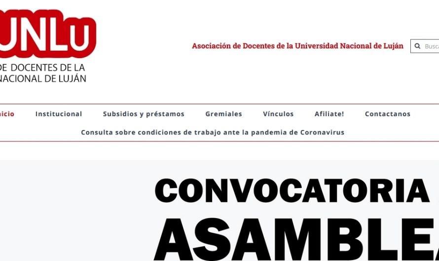 ADUNLu se suma al repudio «intentos desestabilizadores » de la «Protesta Policíal»