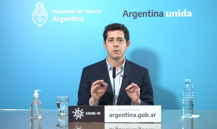 """Wado de Pedro: """"Se recuperaron fondos que Macri transfirió de manera ilegítima, el Presidente subsanó una gran injusticia"""""""