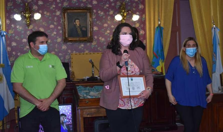 Débora Martinelli fue reconocida por su lucha contra el cáncer de mama