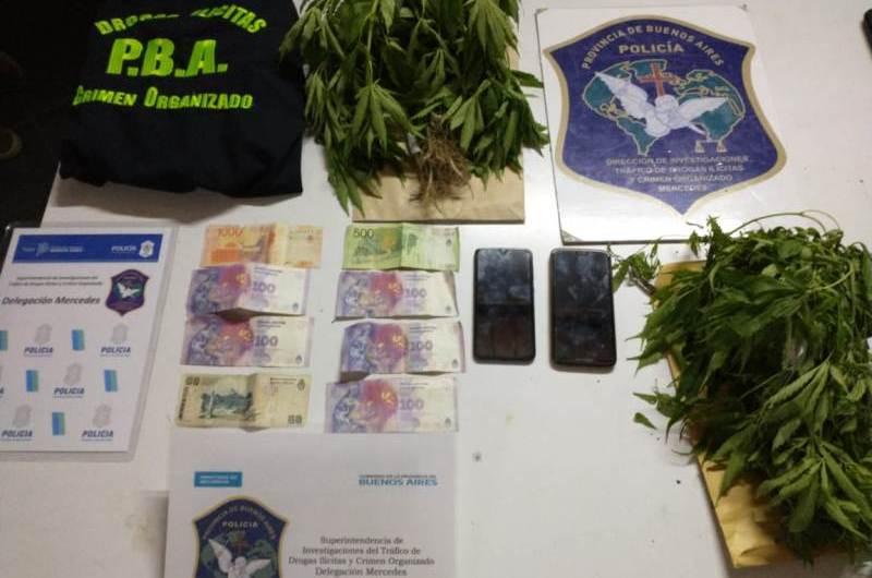 Allanamientos y detenciones por venta y tenencia de drogas ilegales