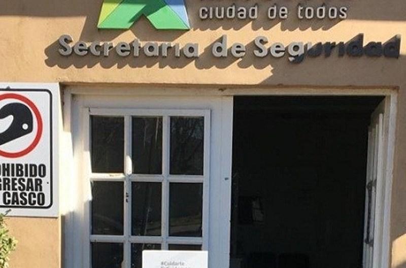 El área de Tránsito cerrado al público por desinfección