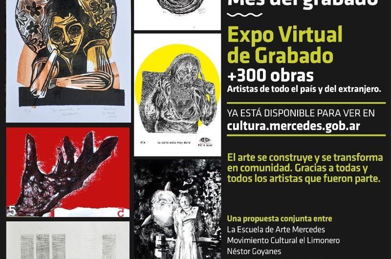 Más de 300 grabados se recibieron para la exposición virtual