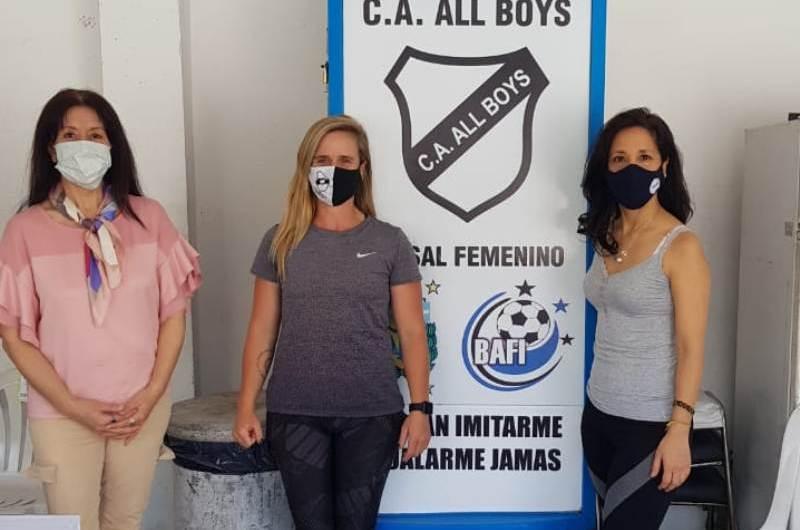 Inician campaña «Yo me Solidarizo» desde All Boys