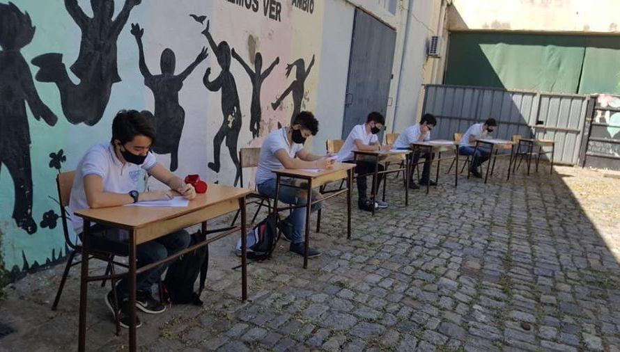 San Andrés de Giles: Volvieron las clases presenciales