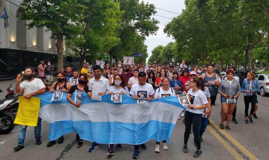 Se realizó una marcha en pedido de justicia por Franco Miranda
