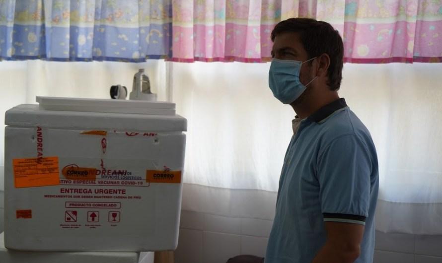 En Mercedes se inició la vacunación contra el Covid-19
