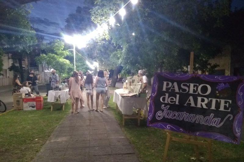 Convocatoria para el segundo Paseo de Arte Jacarandá