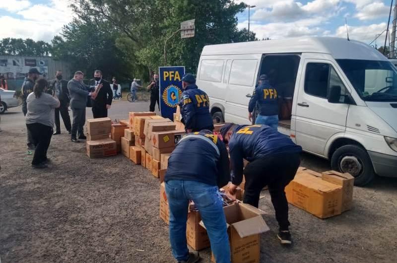 Controles por contrabando en ruta provincial