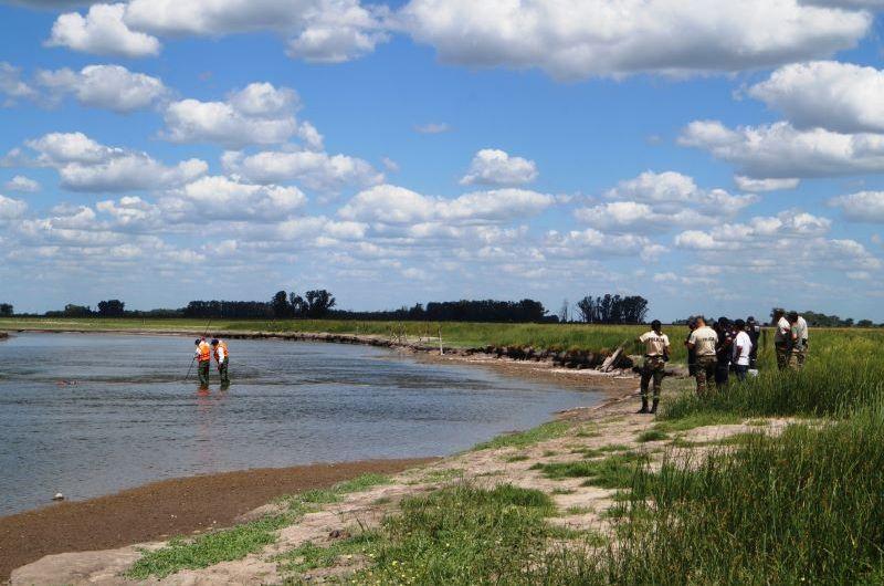 Dos personas fueron halladas sin vida en el Río Salado