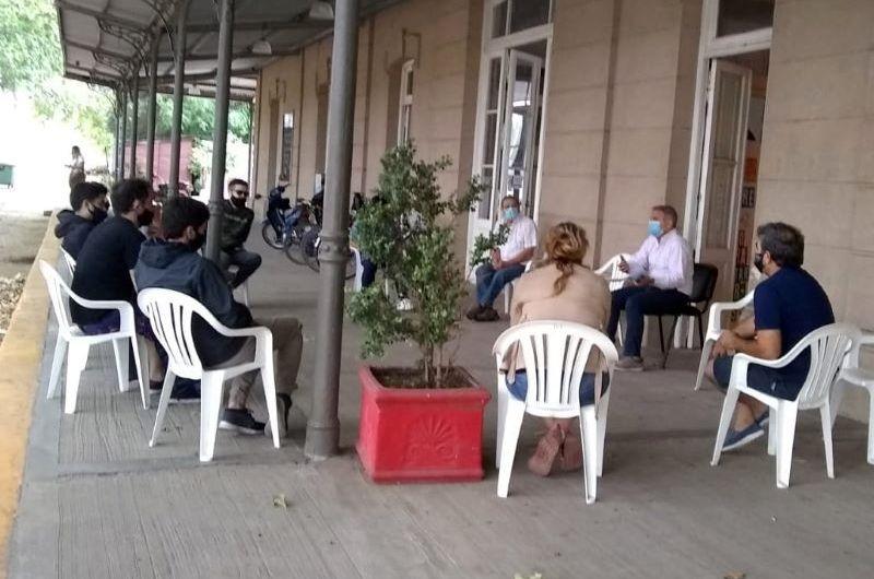 Reunión de espacios gastronómicos con Municipio por el complimiento de protocolos y medidas de cuidado