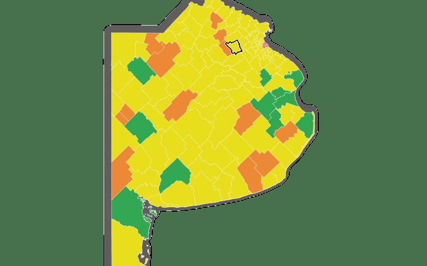 Anuncio de Provincia: Mercedes permanece en la Fase 4