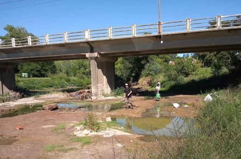 Jornada de limpieza en los arroyos Balta, Frías y el de Oro