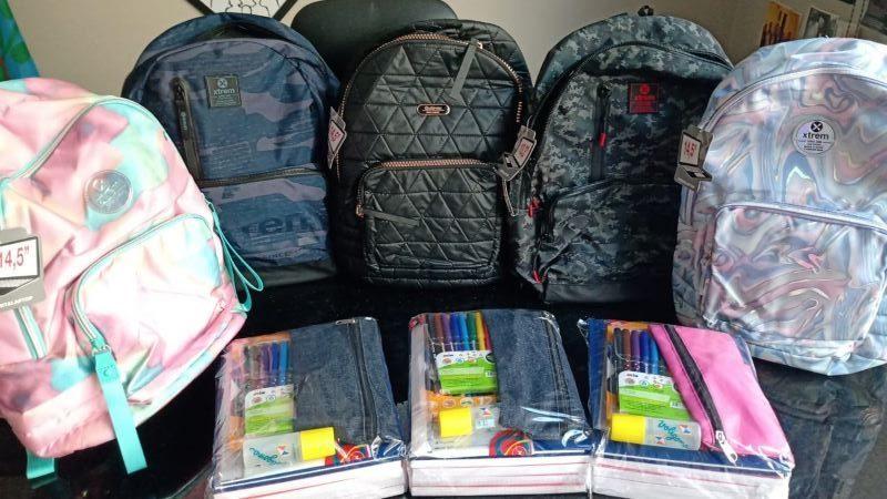 AEFIP Mercedes entrega kits escolares en su región