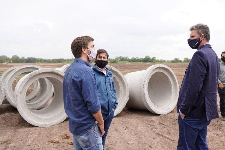 """Ustarroz firma convenio por el «Plan Nacional de Suelo Urbano» generando 174 lotes para """"Mi Terreno"""""""