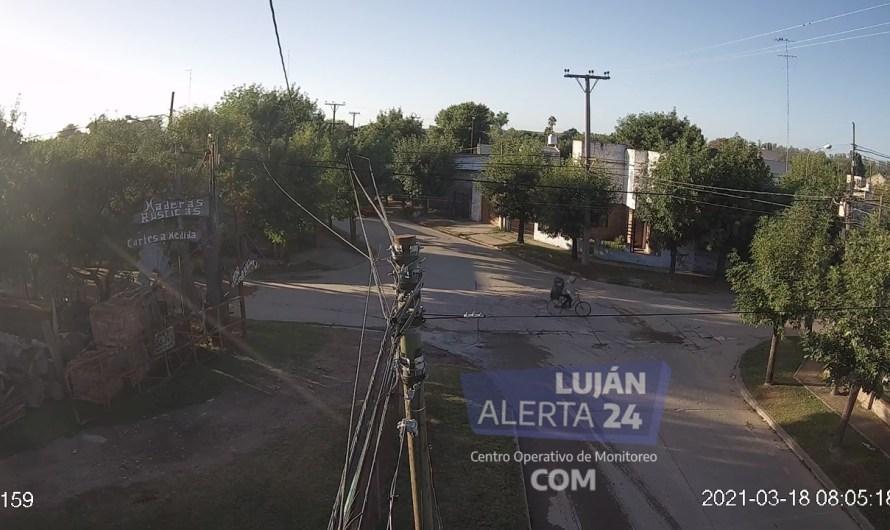 Con la colaboración del COM Luján, la Policía encontró a Maia y a su captor (Videos)