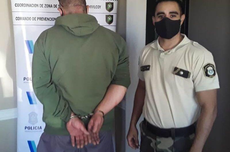 Detención de un hombre con pedido de captura