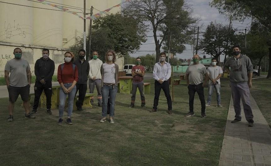 Arreglan y recuperan la Plaza Medalla Milagrosa en el Barrio El Molino