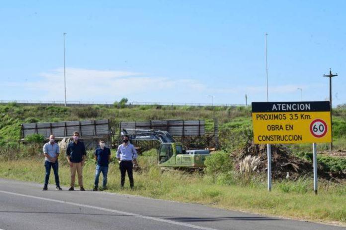 Comenzaron las obras complementarias en Autopista 5