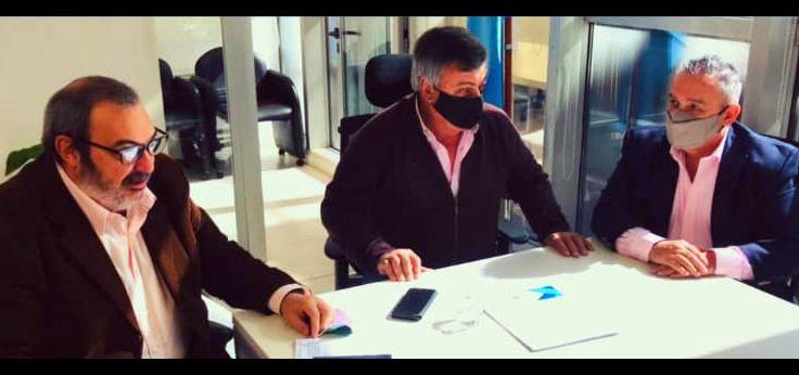 Alquileres: Martilleros se reunieron con el diputado Carlos Selva