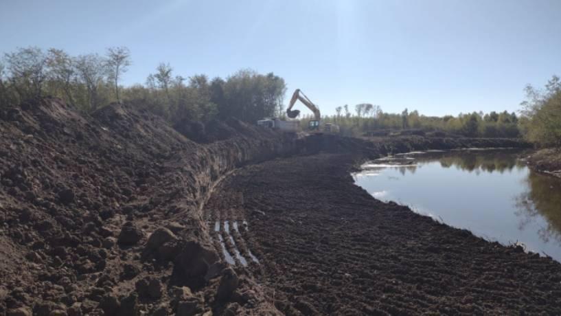 Comenzaron las obras de adecuación del cauce del Río Luján