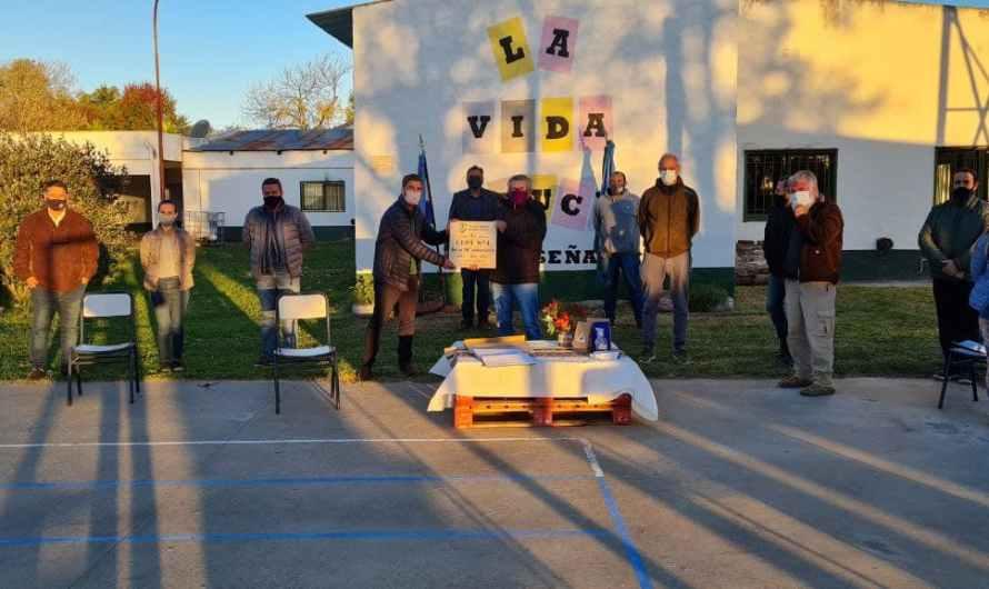 Intendente Ustarroz visitó el CEPT 4 de Mercedes que celebra sus 30 años de vida
