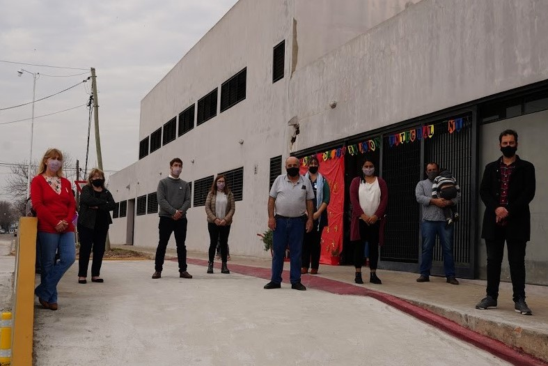 Inauguran obra de infraestructura en Centro de Formación Integral Nº1