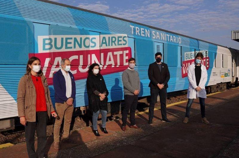 El Tren Sanitario provincial pasó por Mercedes