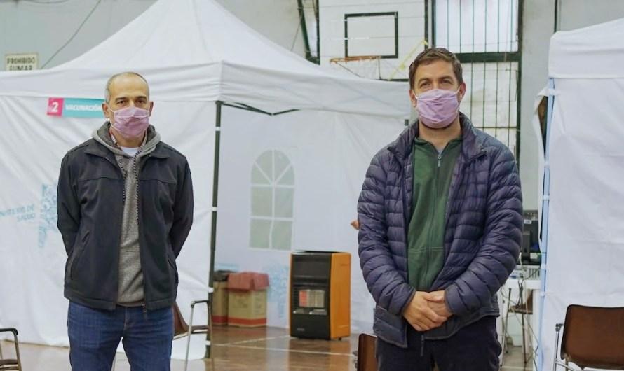 Ustarroz y Pisapia anunciaron más Centros de Vacunación libres y descentralizados para primera dosis