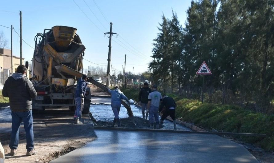 Repavimentan calles de Gowland